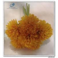 Silk mum bouquets