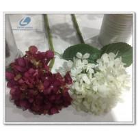 Silk hydrangea single stem