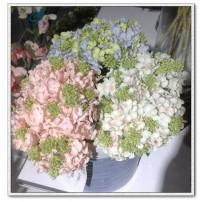 Silk Hydrangea bouquet