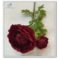 Silk Ranunculus Flowers