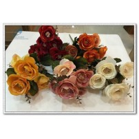 Silk Rose Bunch