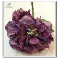 Silk Hydrangea Short Stem