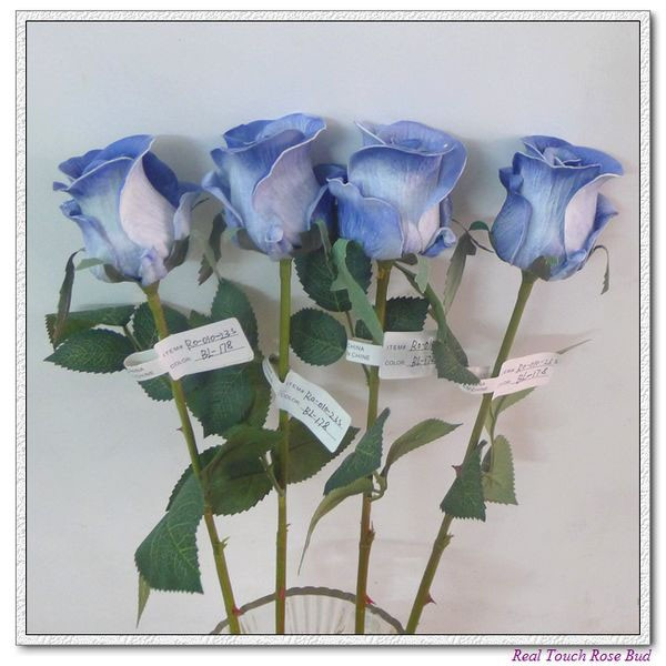 Artificial Flowers Silk Flowers Real Touch Flowersrose Bud
